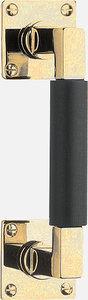 Deurgreep Timeless MG1930B Messing Ongelakt/Ebbenhout