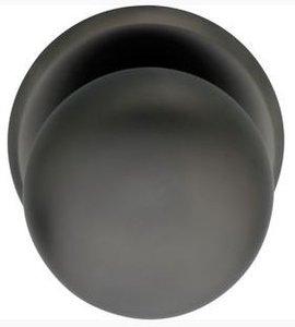 Voordeurknop zwaar ø80/75mm night (PVD)