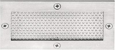 Ventilatierooster SQUARE LSQP100 Mat RVS