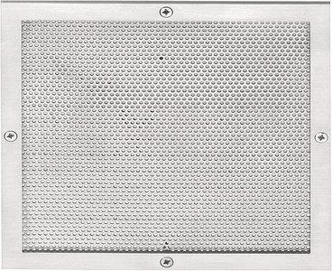 Ventilatierooster SQUARE LSQPQ150 Mat RVS