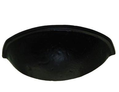 Komgreep Zwart 64 mm