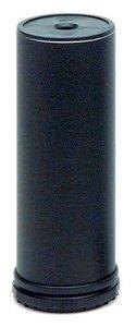 Meubelpoot Staal Zwart gelakt 100-130 mm