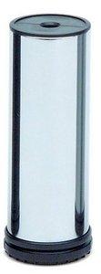 Meubelpoot Staal Chroom gepolijst 100-130 mm