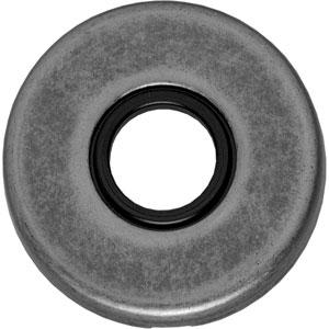 Rozet rond verdekt oud grijs