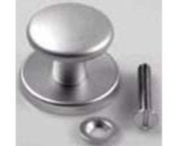 Voordeurknop aluminium