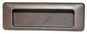 Infreesgreep donkerbrons 31 x 90 mm