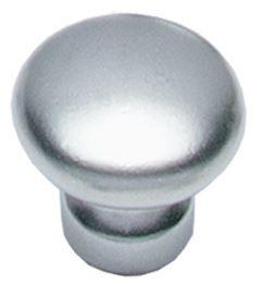 Knop Paddestoel 27 mm Chroom Mat