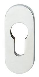 Veiligheid-Schuifrozet 10 mm Ovaal RVS Gepolijst