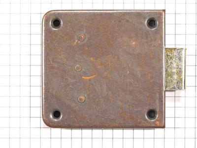 Opdekslot verbronsd penmaat 40 mm