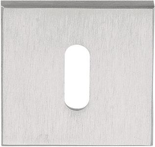 Sleutelplaatje SQUARE LSQBN50B Mat RVS