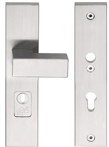 Veiligheidsbeslag met kerntrek beveiliging SQUARE LSQ50-50KT knop/kruk SKG*** RVS PC55