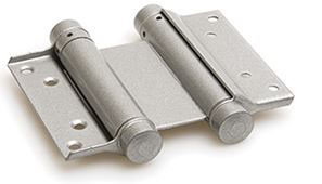 Bommer scharnier Dubbelwerkend 100 mm Zilvergrijs