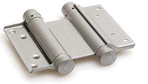 Bommer scharnier Dubbelwerkend 125 mm Zilvergrijs