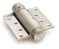 Bommer scharnier Enkelwerkend 100 mm RVS Gepolijst