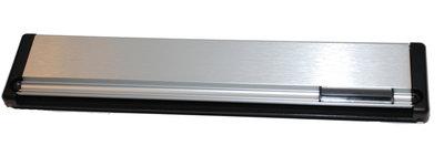 Briefplaat aluminium F1 rechthoek