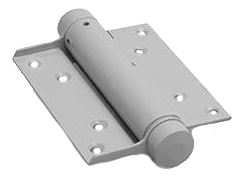 Bommer scharnier Enkelwerkend 100 mm Zilvergrijs