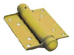 Bommer scharnier Enkelwerkend 100 mm Vermessingd