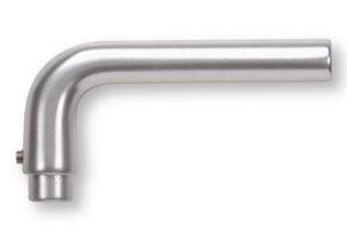 Buva Gatdeel Deurkruk O-LINE 120 mm Aluminium F1