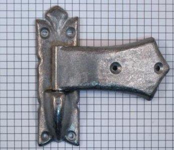 Meubelscharnier zamac tbv opdekdeur ijzer blank naar oud model