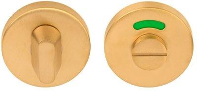 Toiletgarnituur BASIC LBWC50D 8 mm PVD Mat Goud