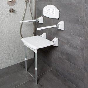 SecuCare armleuning (2x) voor douchezitje- en stoel