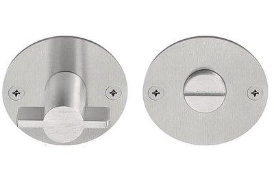 Toiletgarnituur EDGY EGWC50 Mat RVS