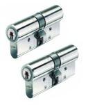 Set van 2 BKS Veiligheidscilinders SKG** 30/30