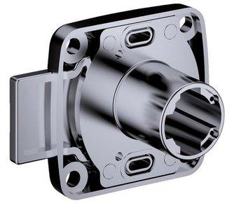 Opschroefslot Doornmaat 25 mm Deurdikte: 28 mm