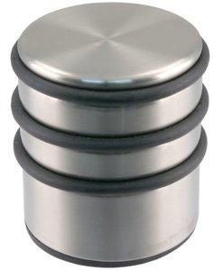 Deurstop Zwaar Rond 65 mm RVS