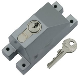 Nemef Espagnoletbeveiliger aluminium met enkel profielcilinder