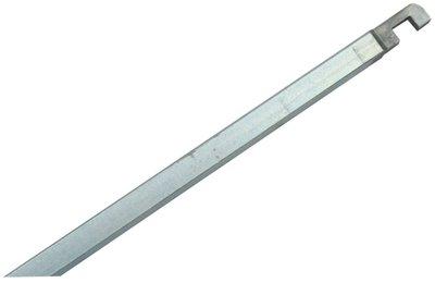 Nemef Staaf voor pomp-espagnolet 1 verzinkt 9x1500 mm