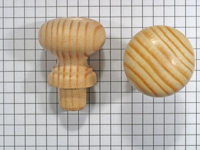 Meubelknop grenen 30 mm