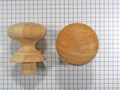 Meubelknop grenen 40 mm