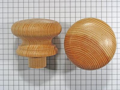 Meubelknop grenen 44 mm