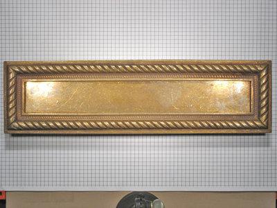 Brievenbus brons antiek
