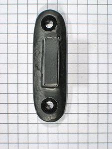 Aanslag raamsluiting ijzer zwart