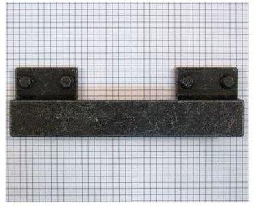 Industriegreep oud ijzerkleur 192/224 mm