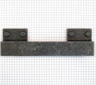 Industriegreep oud ijzerkleur 128/160 mm