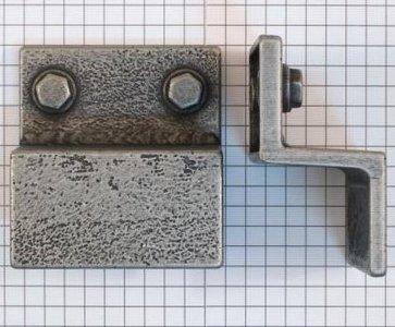 Industrieknop Tin Kleur 32 mm