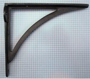 Plankdrager 213 x 185 mm ijzer blank