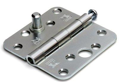 Scharnier doorgezet 89x89 mm SKG*** staal verzinkt