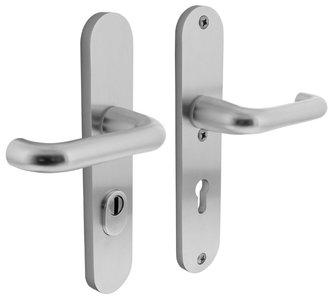 Veiligheidsbeslag met kerntrek beveiliging kruk/kruk SKG*** PC55 Aluminium F1