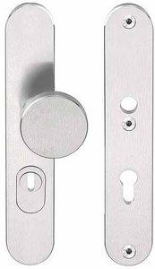 Veiligheidsbeslag met kerntrek beveiliging BASICS LB60-50KT knop/kruk SKG*** RVS PC55