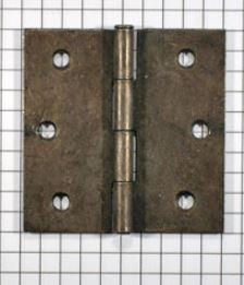 Scharnier ijzer geroest 50 x 50 mm