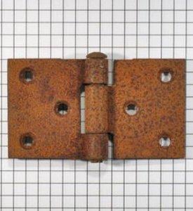 Scharnier geroest ongelakt 4x7 cm