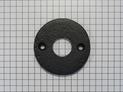 Rozet ijzer zwart