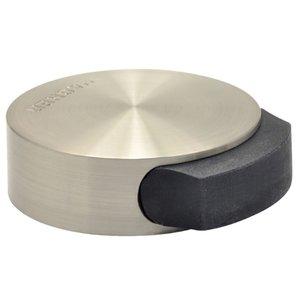 Vloerdeurstopper RVS rond 50x17 mm