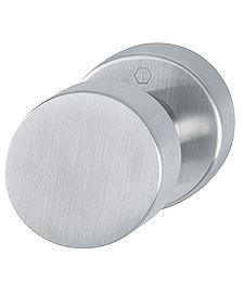 Hoppe voordeurknop aluminium F1