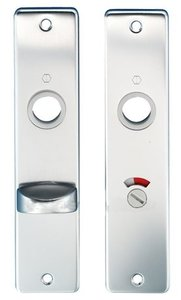 Hoppe Renovatieschild WC55/8 mm Aluminium F1