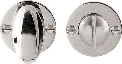 WC-Sluiting 8 mm Rond Glans Nikkel